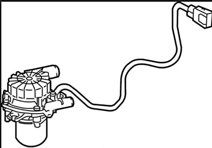 Amazon Com Toyota 17610 0p010 Secondary Air Injection Pump Automotive
