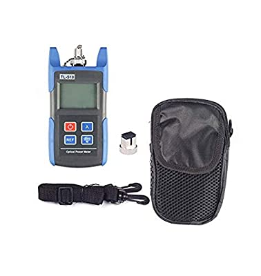 Optical Power Meter, SainSonic WattsOut OP-510, Portable Optical Power Meter, -50 - +26 dBm , SC/ FC/ ST Interfaces, Fiber TL510C for CATV Test , CCTV Test and Telecommunication