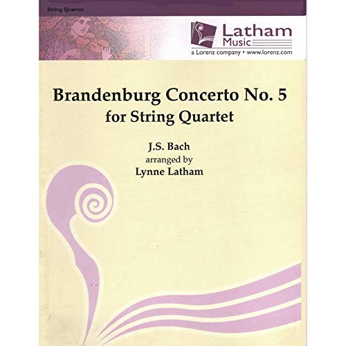 Bach, J.S.: Brandenburg Concerto No. 5 for String Quartet (Ludwig Viola)
