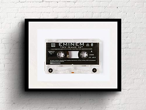 Eminem - My Name Is - Cassette Print