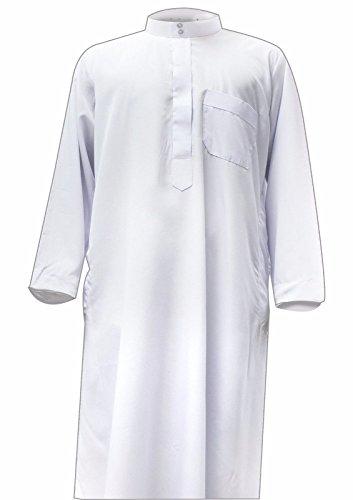 hombre Desert Abrigo Blanco Dress para XqqCxaw6Z