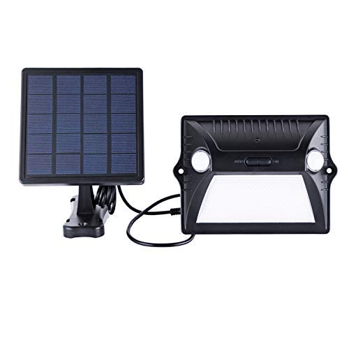 Solar Lights Outdoor Motion Sensor Waterproof Wireless Color Changing Security Porch Lights Dual Motion 180°Sensor Angle, Adjustable Solar Panel Easy Installation Wallmount Pathway Garden Yard (1) [並行輸入品] B07RBPV2HL