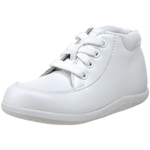 Stride Sweet - Stride Rite Baby SRT Grayson, White Leather, 3 W US Infant