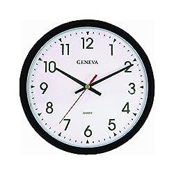 Geneva Commercial Hanging Wall Clock