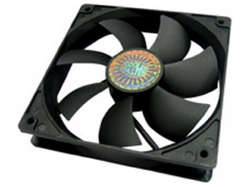Black Case Fan - Cooler Master Sleeve Bearing 120mm Silent Fan for Computer Cases, CPU Coolers, and Radiators (Value 4-Pack)