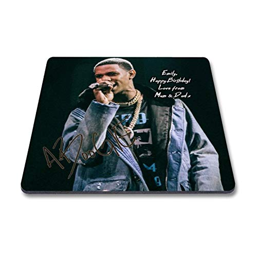 (Star Prints UK A Boogie Wit Da Hoodie 1 Personalised Gift Fridge Magnet Autograph Print (with Personalised Message))