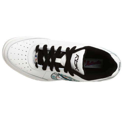 White Silver Sneaker Oversize Clubhouse MLB Marlins Black Reebok Mens xwHS8AwY