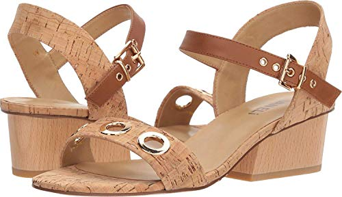 VANELi Womens Chaddy Open Toe Casual Slingback Sandals, Natural Cork, Size 9.5 ()