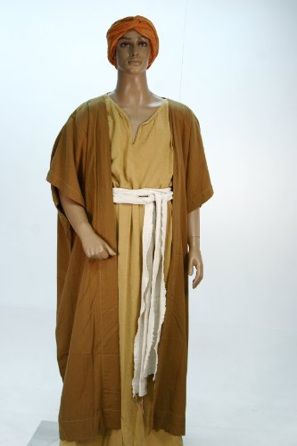 Egyptian Biblical Roman Greek Costume Tunic Cape From Year One W COA