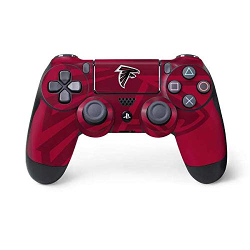 Skinit Atlanta Falcons Double Vision PS4 Controller Skin - Officially Licensed NFL PS4 Decal - Ultra Thin, Lightweight Vinyl Decal Protective Wrap