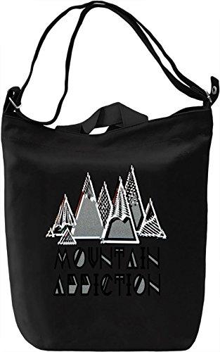 Mountain Addiction Borsa Giornaliera Canvas Canvas Day Bag  100% Premium Cotton Canvas  DTG Printing 