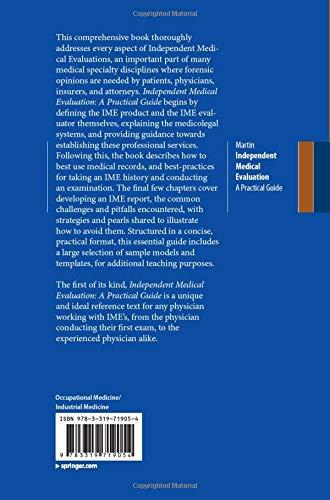 Independent Medical Evaluation: A Practical Guide - http://medicalbooks.filipinodoctors.org
