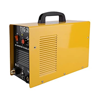 CNMODLE Practical Weld Inverter Weld Welding Multifunction Mini Inverter Welding Machine TIG-200 with Accessories