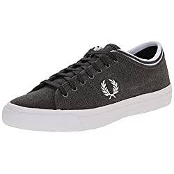 Fred Perry Men's Kendrick Tipped Pigment-Dyed CNV Fashion Sneaker