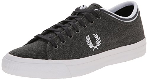 Fred Perry Kendrick Tipped Cuff Pigment Dyed Canva - - Hombre Antracita