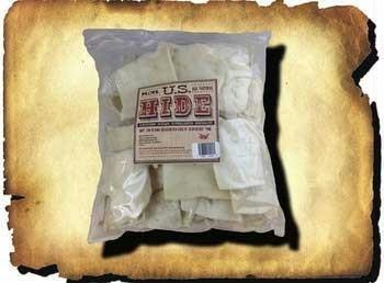 U.S. Hide - Rawhide Chips - 1 Pound (16 oz) Bag