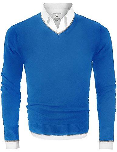 Light Blue Cardigan Sweater - 2