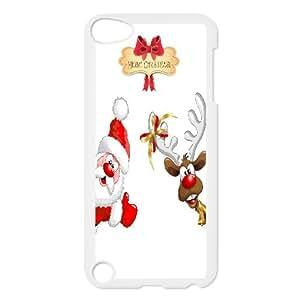 Custom Christmas Cartoon Phone Case For Ipod Touch 5 NC1Q03497