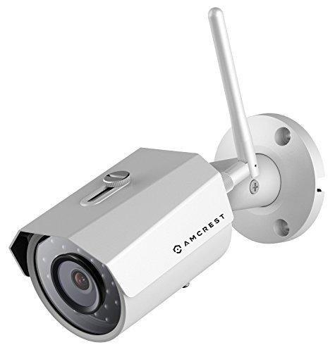 Amcrest IPM-723W Outdoor 960P 1.3 Megapixel (1280TVL) WiFi Wireless IP Security Bullet Camera - IP67 Weatherproof,...