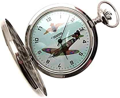 Pocket Watches for Men Gifts for Men Spitfire Pocket Watch Spitfire Watch