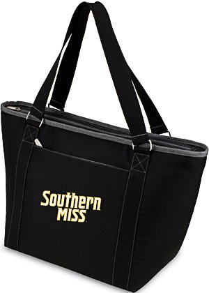 NCAA Southern Mississippi Golden Eagles Topanga with Embroidery, One Size, Black