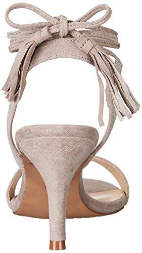 Steven by Steve Madden de las mujeres valen vestido sandalia Taupe Suede