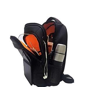 HOWO Solar Backpack Charger 6.5W Solar Panel Daypack (Black)