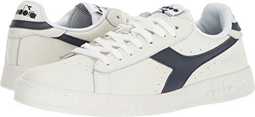 Diadora Unisex Game L Low Casual Shoes White/Dress Blues/White QjQbEnIAC