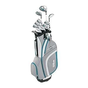 Amazon.com: Paquete completo de juego de golf Wilson Profile ...