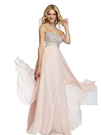 S01 beading Sping new Evening Dresses party full length prom gown ball dress robe (18