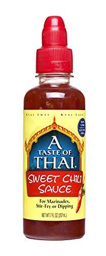 A Taste of Thai Sweet Red Chili Sauce, 7 Fluid oz Bottle, 6 Piece