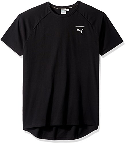 PUMA Men's EVO Core T-Shirt, Black, XX-Large
