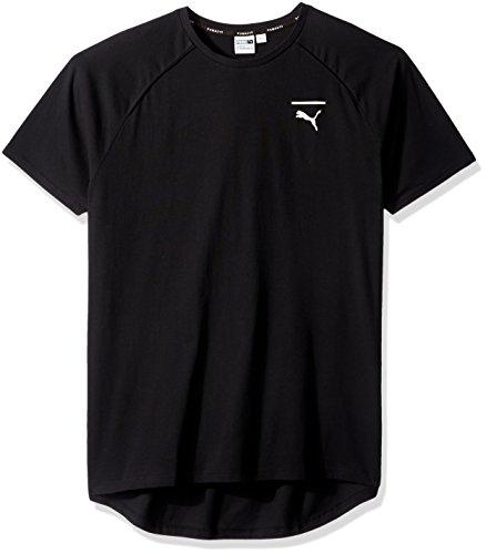 PUMA Men's Evo Core T-Shirt, Puma Black, Medium