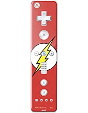 DC Comics Flash Wii Remote Controller Skin - The Flash Emblem Vinyl Decal Skin For Your Wii Remote Controller