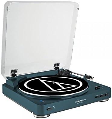 Audio-Technica AT-LP60NV-BTBL - Tocadiscos estéreo de transmisión ...