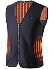 Heated Vest for Men and Women USB Charging Gilet Washable Lightweight Warm Jacket