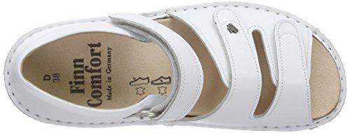 Femme Finn et À Usedom Blanc Blanc Sandales Bride Compensé Comfort Talon 6nT6q78w