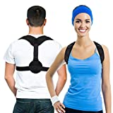 """Belletek Back Posture Corrector for Women & Men & Kids - Effective and Comfortable Posture Brace/Figure corrector for Slouching & Hunching - Clavicle Support- Improving Posture-Relief Back Pain(Chest Size 27"""" - 47"""") … …"""