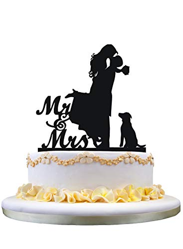Cake Topper with Dog