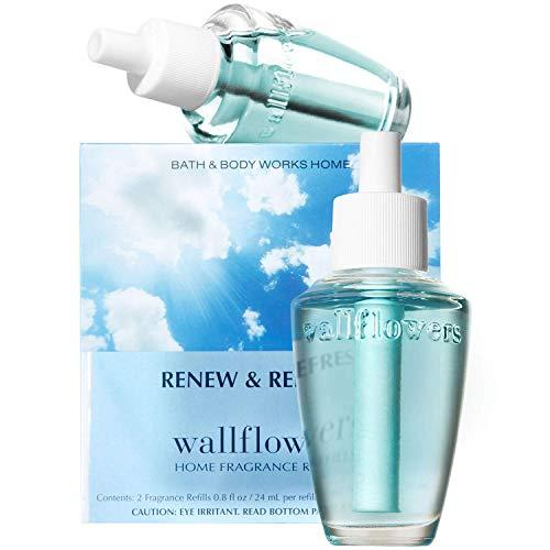Bath & Body Works Renew & Refresh Wallflowers Home Fragrance Refills, 2-Pack