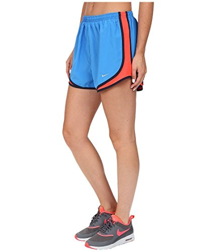 Nike Womens Tempo Short Lt Photo Blauw / Bright Crimson / Wolf Grey