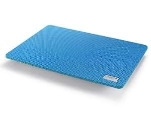 DeepCool N1 Slim - Base portátil con ventilador, azul