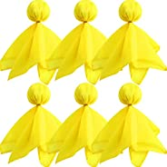 6 Pieces Football Penalty Flag Tossing Flags Sports Fan Set Penalty Flag Party Accessory (Yellow)