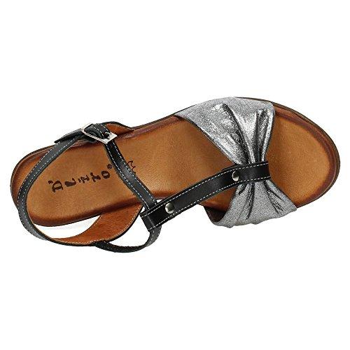 Noir sandales sandales femme Dliro femme Noir sandales Dliro Dliro femme zApqBXx