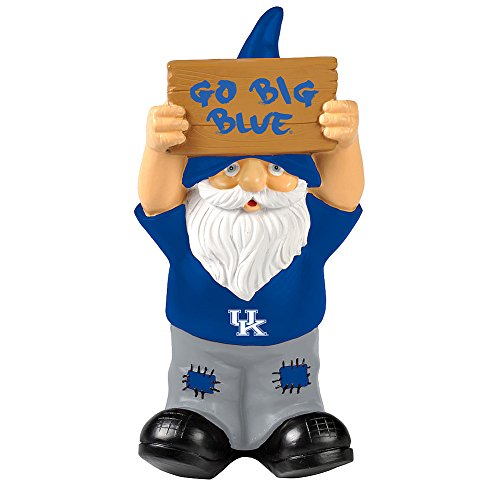 Elite Fan Shop Kentucky Wildcats Garden Gnome - Blue