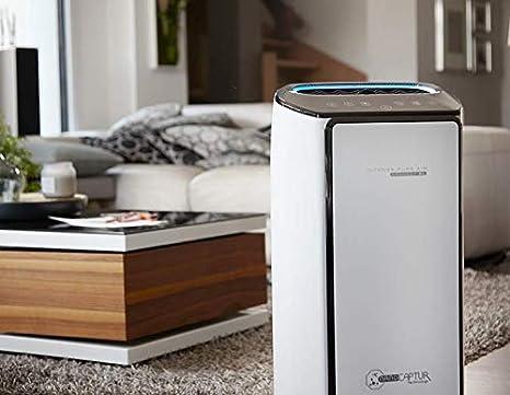 wei/ß Rowenta PU6080 Intense Pure Air Connect XL Luftreiniger f/ür Allergiker, bis zu 33 m/², 4 Filterstufen, mit App-Steuerung