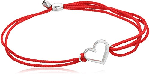 Cord, Heart, Sterling Silver, Expandable ()