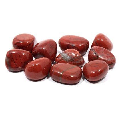 Red Jasper Tumble Stone (20-25mm) 5 Pack