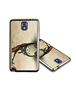 Samsung Galaxy Note 3 Case Totoro Japan Anime fina Retro Style Anime Oro Gold For Samsung Galaxy Note 3 Case