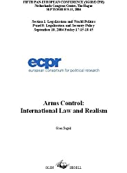 Arms Control: International Law and Realism
